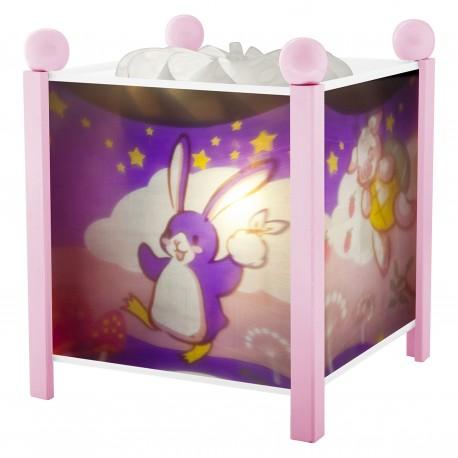 "Magic Lantern Lapingouin© ""Bunny Penguin"" - Pink 12V"