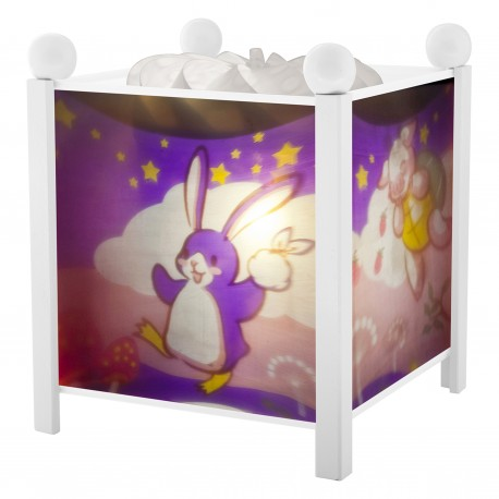 "Magic Lantern Lapingouin© ""Bunny Penguin"" - White 12V"