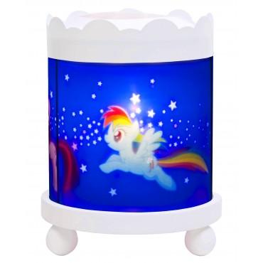Manège Lanterne Magique My Little Pony© - Blanc 12V