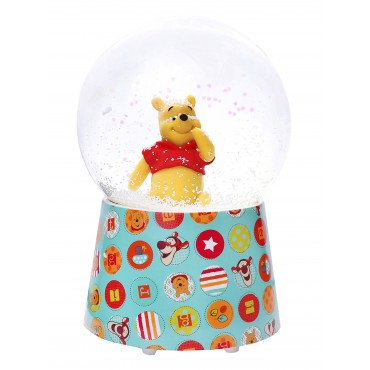 Snow Globe with Music Winnie the Pooh