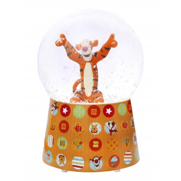 Snow Globe with Music Tiger - Winnie the Pooh
